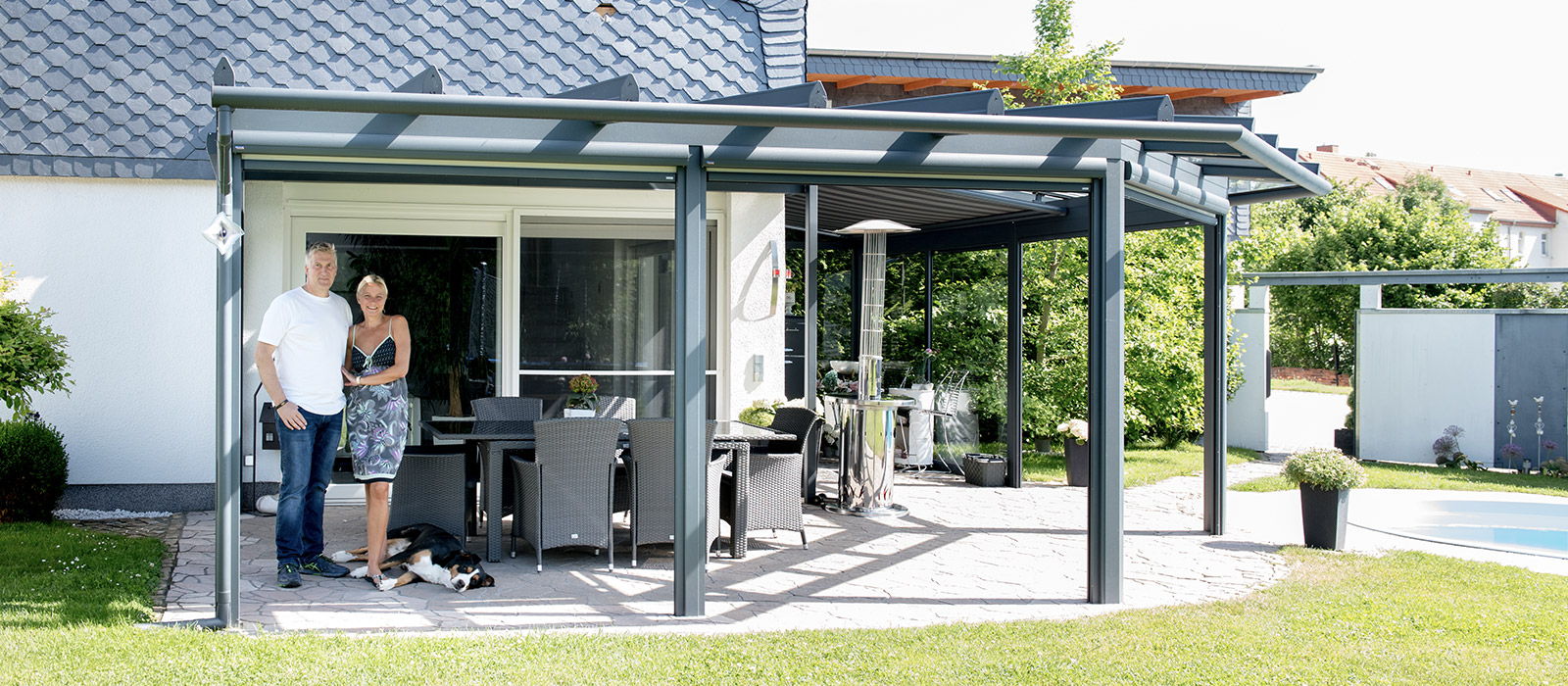 Terrassendächer & Carports